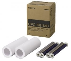 Sony UPC-R81MD Letter Size Color Print Pack